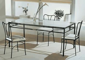 Tavoli da giardino in ferro e vetro ~ Mobilia la tua casa