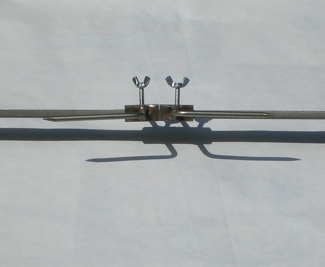 Lancia in acciaio inox per girarrosti portata kg 9 for Prezzo acciaio inox al kg