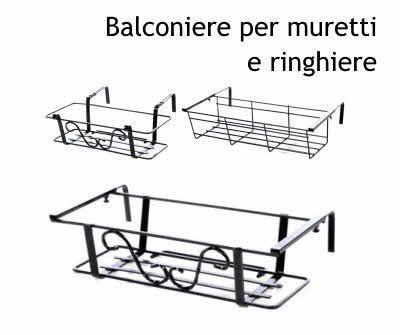 Fioriere Plastica Per Esterno.Fioriere Da Esterno In Ferro Battuto Da Balcone E Giardino