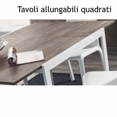 Tavoli In Legno Allungabili Da Cucina.Tavoli Da Cucina Allungabili Con Piano In Legno E O Vetro