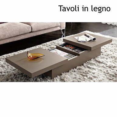 Tavolini Da Salotto Moderni Classici Tavolino Legno E Vetro
