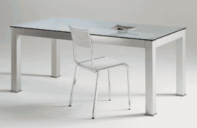 Tavoli design moderni tavolo da pranzo soggiorno con vetro - Tavoli moderni da cucina ...
