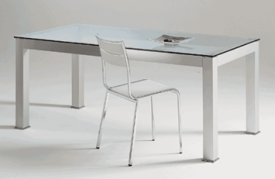 Tavoli design moderni tavolo da pranzo soggiorno con vetro for Tavoli da soggiorno moderni allungabili