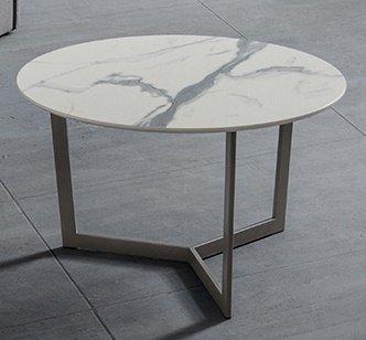 Tavolino Da Salotto Moderno Prezzi.Tavolino Da Salotto Moderno Clio Peltro Biancostatuario O60