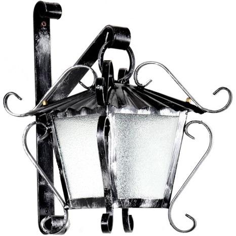 Lanterne da esterno lanterna fiorentina appendere applique - Lanterne da esterno in ferro battuto ...