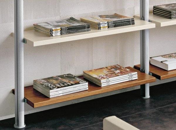 Mensole Per Libreria Legno.Mensola L90 Legno Libreria Natasha