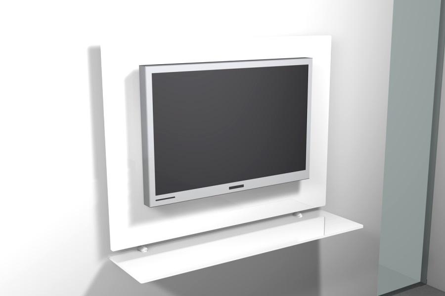 Mobile Porta TV da parete LCD. Porta TV LCD Kilt Rettangolare ...