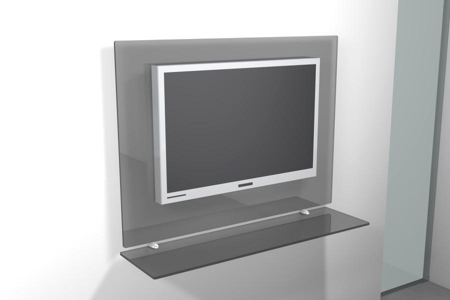 ... TV da parete LCD. Porta TV LCD Kilt Rettangolare Porta TV da parete