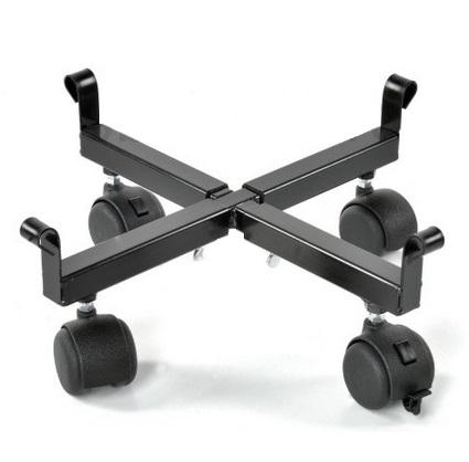 Portavasi in ferro battuto per interni o da esterno con ruote - Portavasi per interni ...