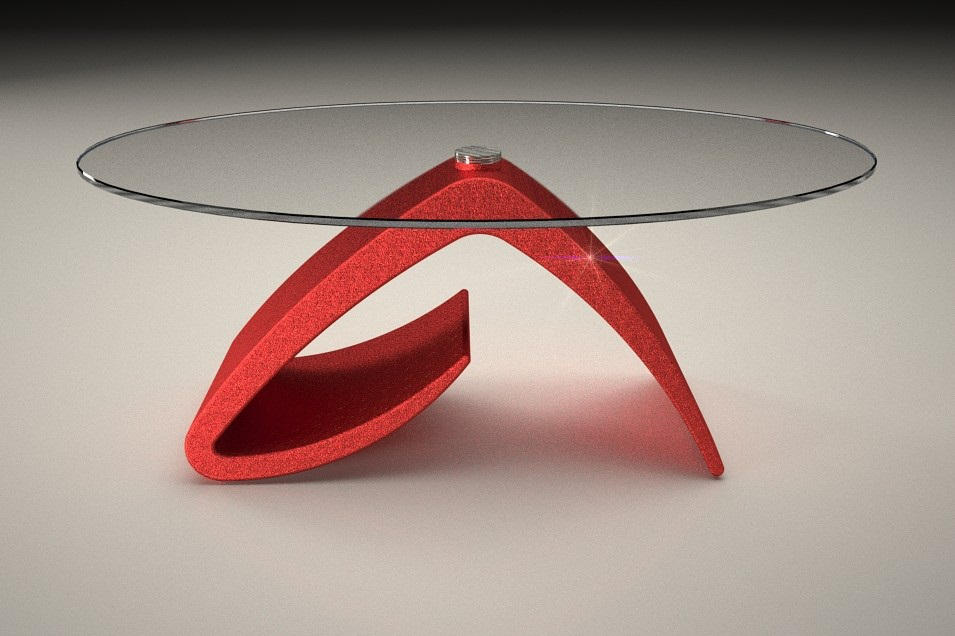 Tavolino Salotto Rosso.Tavolo In Marmo Da Salotto Tritone Art 666