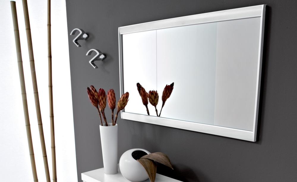 Vendita specchio moderno per entrate in metallo world casa