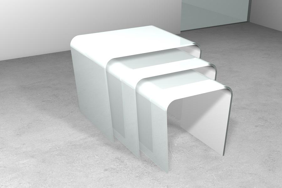 Tavolino da salotto tavolo tavolini in cristallo tavoli for Tavolini cristallo
