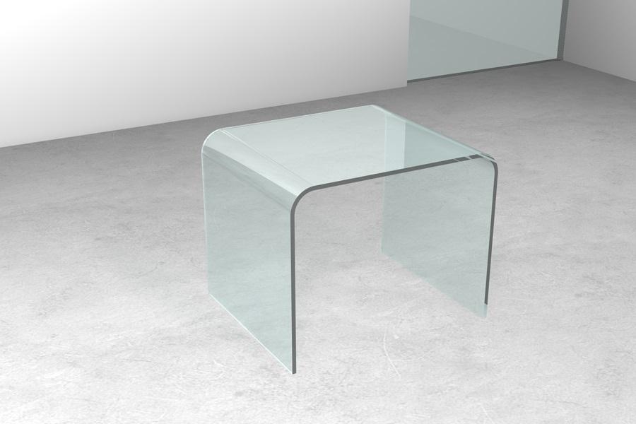 Tavolini ponte bis sagomati tavolini da salotto in vetro for Tavolini cristallo