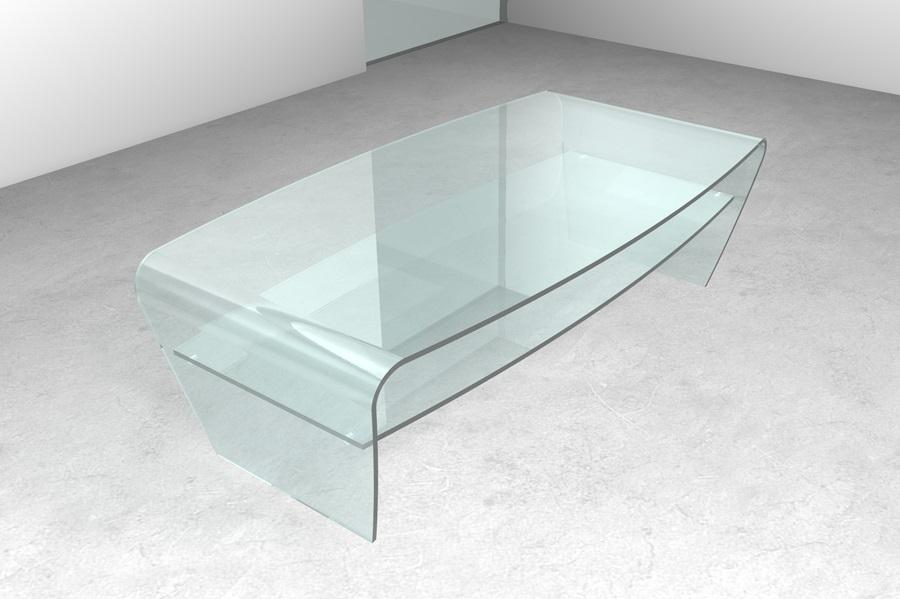 zottoz.com | supporto tv design - Tavolino Salotto Piano Vetro Palestrina