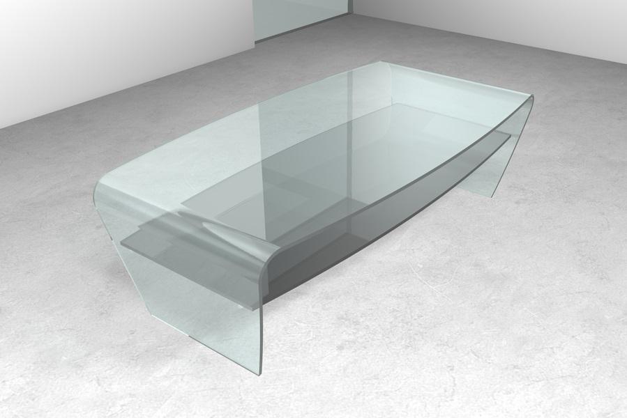 Arredamento salotto Arredamento tavolino da salotto in vetro. Tavolo ...