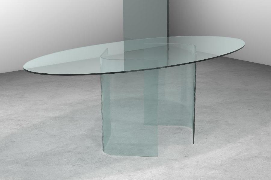 Tavolo in vetro moderno. Vendita tavoli moderni in vetro