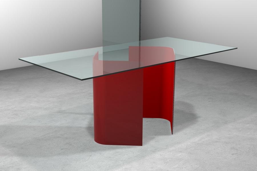 Tavolo vetro vendita tavoli cristallo moderno prezzi sconti for Casa di vetro moderna in vendita