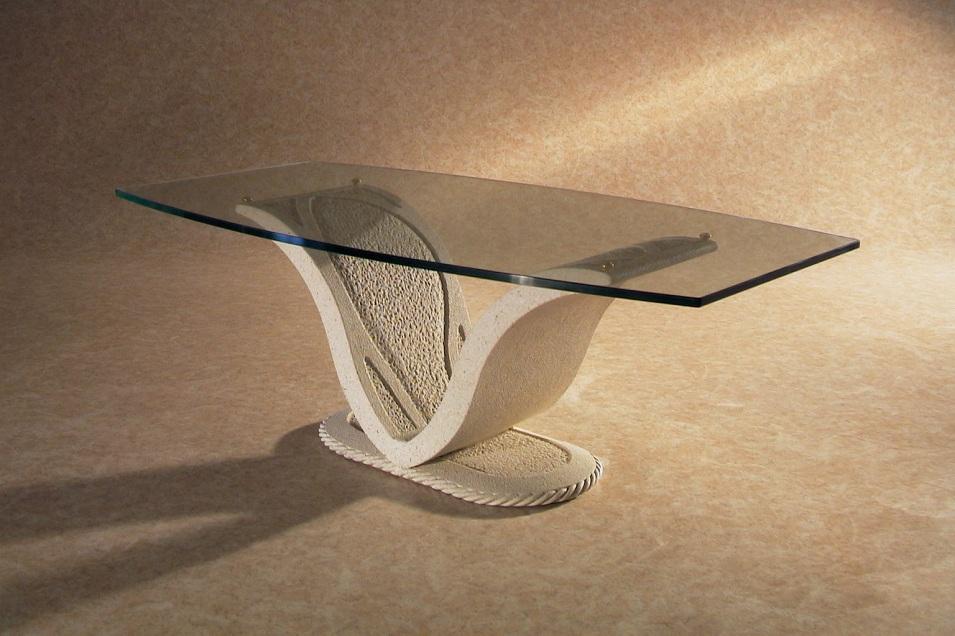 Tavolini Da Salotto In Vetro Classici.Tavolino In Marmo Anubi Art 46c