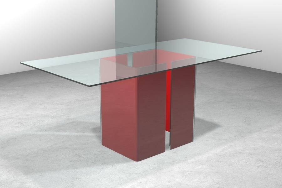 Tavolo vetro Vendita tavoli cristallo moderno Prezzi sconti