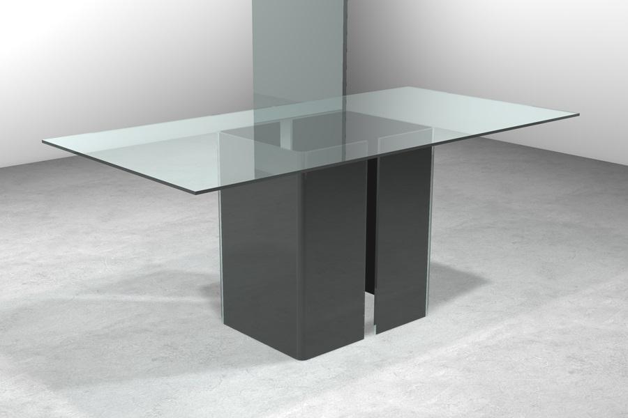 Basamenti Per Tavoli In Cristallo.Tavolo In Cristallo Tavolo Cubo Tavolo In Cristallo Trasparente