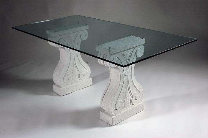 Tavoli in marmo da pranzo classici tavoli da salotto in marmo for Tavolo marmo design