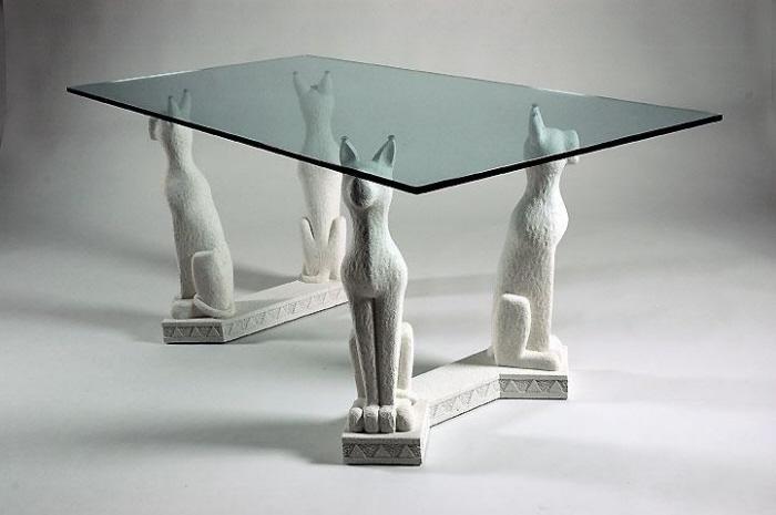 Tavolo in agglomerato di marmo tavolo in marmo 845 for Tavolo effetto marmo