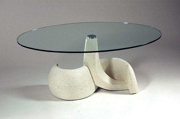 Tavoli in marmo Tavolo 533 Tavoli in marmo Tavolo in agglomerato di ...