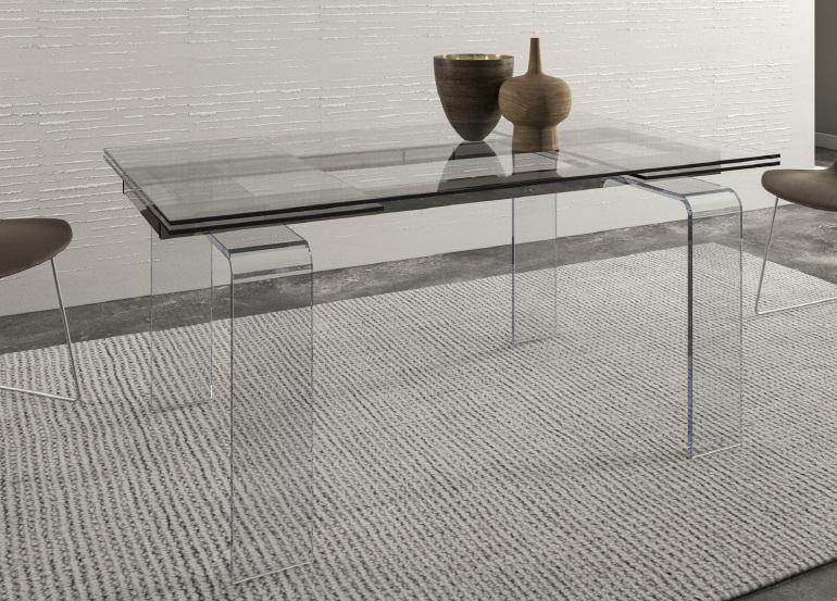 Tavoli in vetro allungabili tavolo vetro allungabile prezzo for Tavolo vetro allungabile