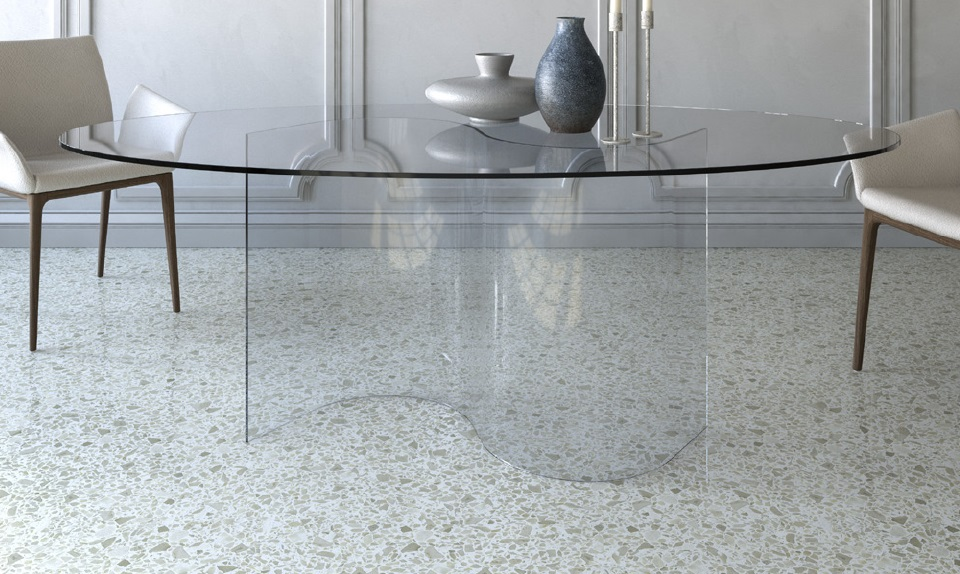 Tavolo in cristallo tavolo cristallo prezzi in offerta for Tavolo riflessi cristallo