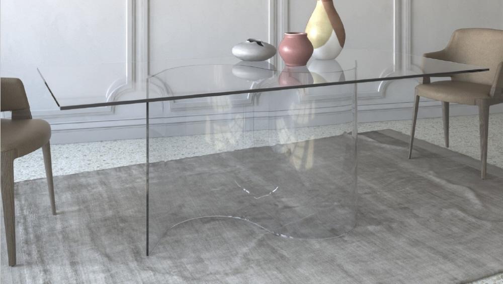 Tavolo in cristallo. Tavolo cristallo prezzi in offerta