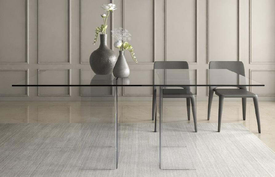 Tavolo di vetro Tavoli economici Tavoli di vetro per salotto