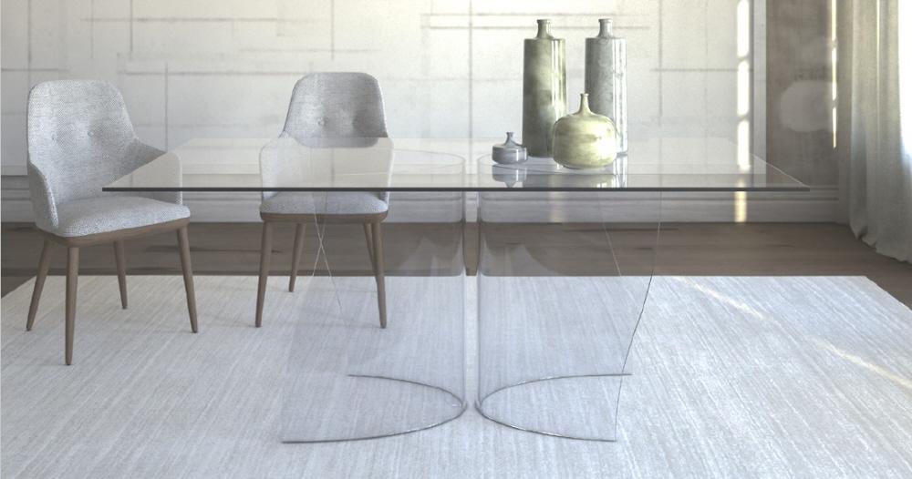 Tavolo Riunioni In Vetro.Tavolo Vetro Vendita Tavoli Cristallo Moderno Prezzi Sconti