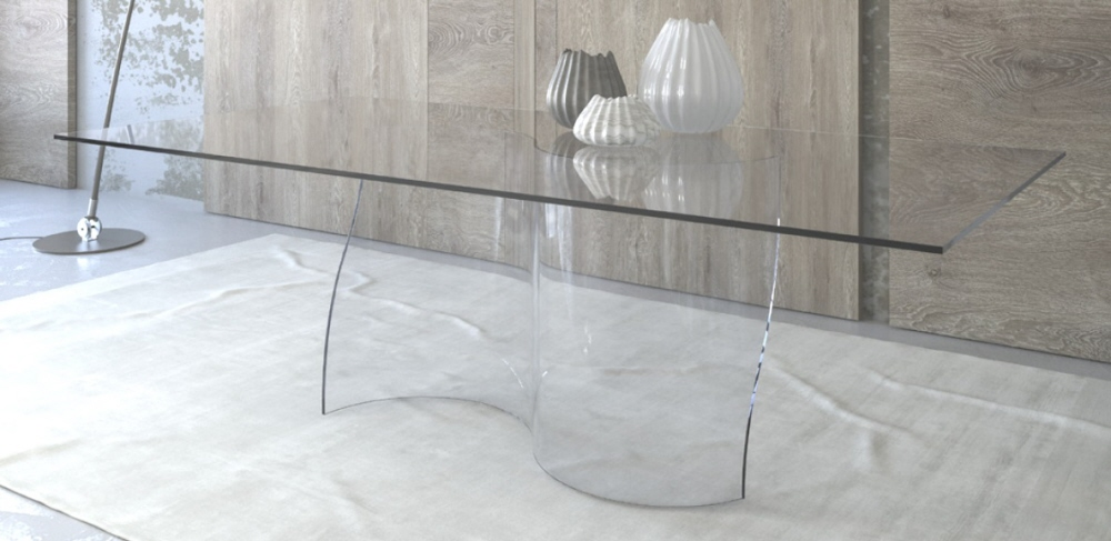 Tavolo vetro salotto. Prezzi tavoli vetro. Tavoli in vetro