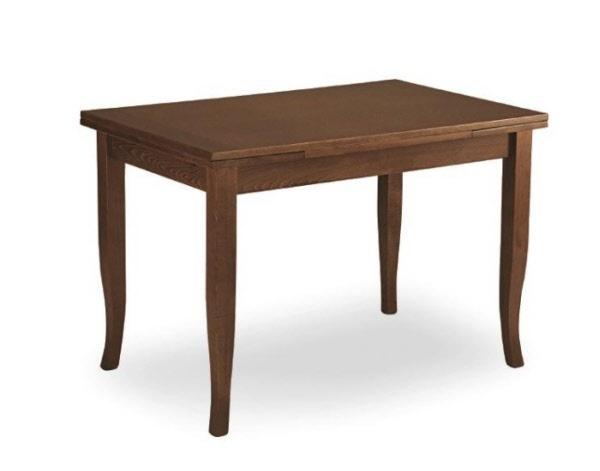 Tavolo in legno di faggio allungabile tavolo arte povera for Tavolo di legno allungabile