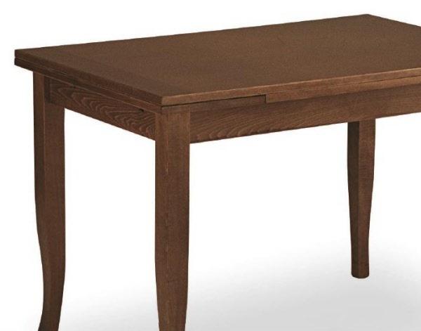 Tavolo in legno di faggio allungabile Tavolo Arte Povera