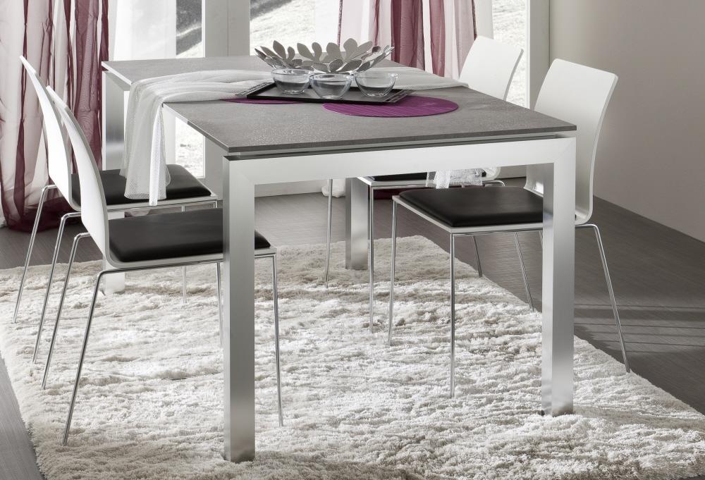 Tavoli Da Salotto Allungabili : Tavolo allungabile moderno in vetro tavolo luca worldcasa