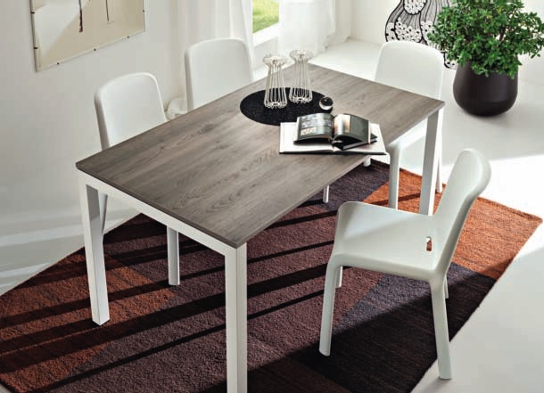 Tavolo da cucina tavolo da cucina luigi tavolo con piano in legno da cucina - Tavoli da cucina design ...