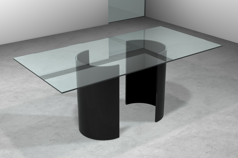 Tavolo in vetro. Vendita tavolo vetro. Tavolo vetro moderno