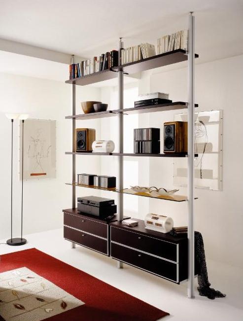 Mobili per ingresso con libreria design casa creativa e - Mobili divisori per ingresso ...