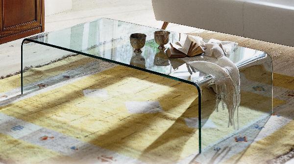 Tavolino ponte Tavolini in vetro design Tavolo Ponte Tavolini in vetro