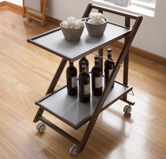 Porta vivande vendita tavolo vassoio carrello porta vivande world casa - Carrello portavivande pieghevole ...