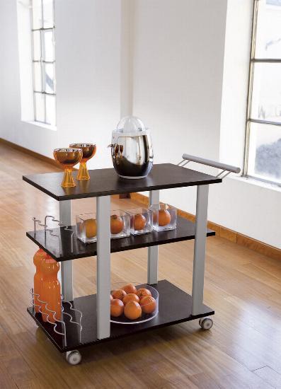 Porta vivande vendita tavolo vassoio carrello porta vivande world casa - Mobile porta liquori moderno ...