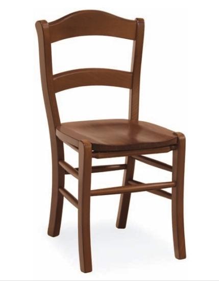 Sedie legno sedie cucina Sedia Rustica Paesana seduta in legno ...