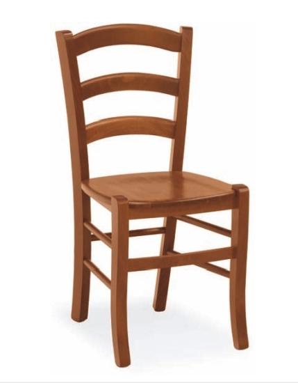 Sedia Rustica Venezia con seduta in legno Sedia in legno di faggio ...