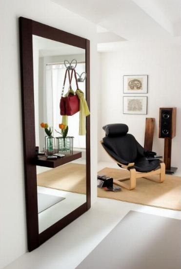 Specchiera in legno per ingressi for Arredare un ingresso piccolo