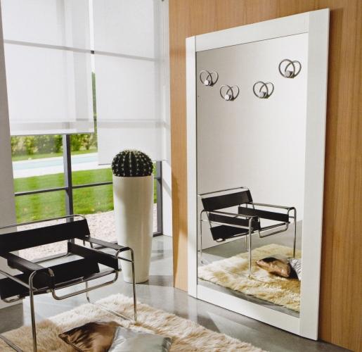 Arredare l 39 ingresso specchiera con attaccapanni composizione jessica art 531 - Mobili ingresso moderni con appendiabiti ...