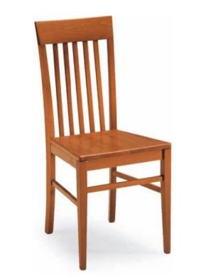 Sedie con seduta in legno Sedia moderna da cucina con seduta in ...