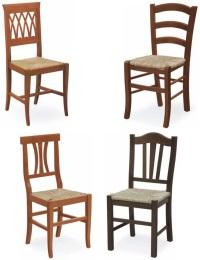 Sedie per la cucina sedie legno colorate per cucina sedie for Sedie imbottite grigie