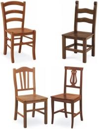 Sedie in legno per cucina | Higrelays