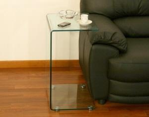 Tavolino da salotto tavolo tavolini in cristallo tavoli - Tris tavolini da salotto ...